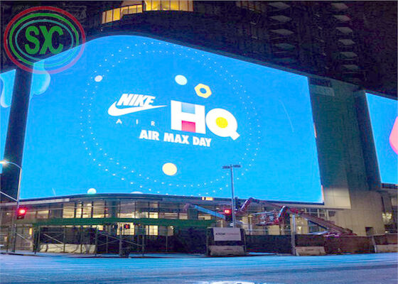Firsthand Full color SMD P10 1R1G1B outdoor led display with 3-5 years warranty