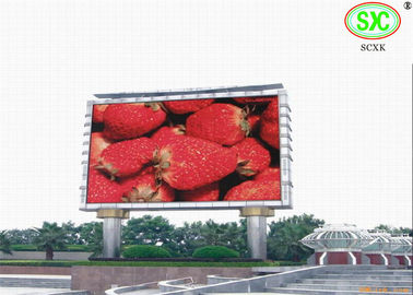 China High Definition Giant Outdoor Led Billboards For Exhibition / Sporting Events 6500K - 9500K factory