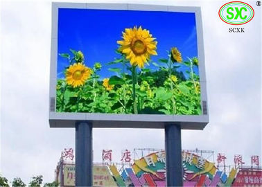 China Stage Background Outdoor P16 DIP Full Color LED Billboards Pixel Density 3906/m² factory