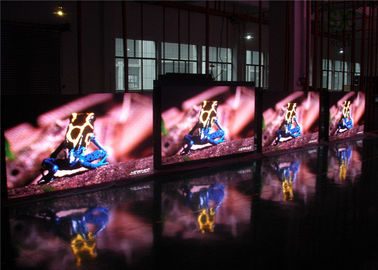 China SMD2121 P4 Exhibition Stadium led screen wall High Resolution Energy saving factory