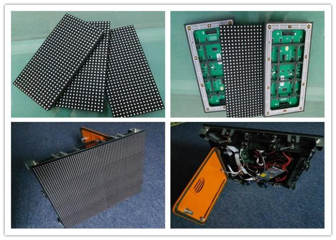 Waterproof 1R1G1B High Brightness P8 smd LED Display Module for large plaza 0