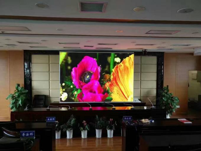 64x32dots LED Billboard Advertising Screen P4 For Stadium / Shopping Center , High Refresh Rate