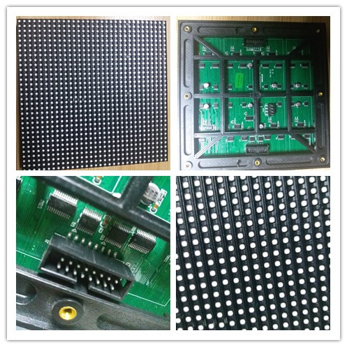 outdoor P6 192mm*192mm led module with large PCB board and heat resistant IC rgb led display module 0