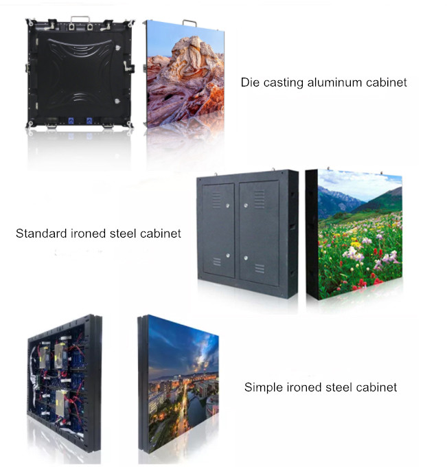 Rgb Outdoor Full Color Led Display P3.91-P10 65410 Dots / M2 Pixel Density