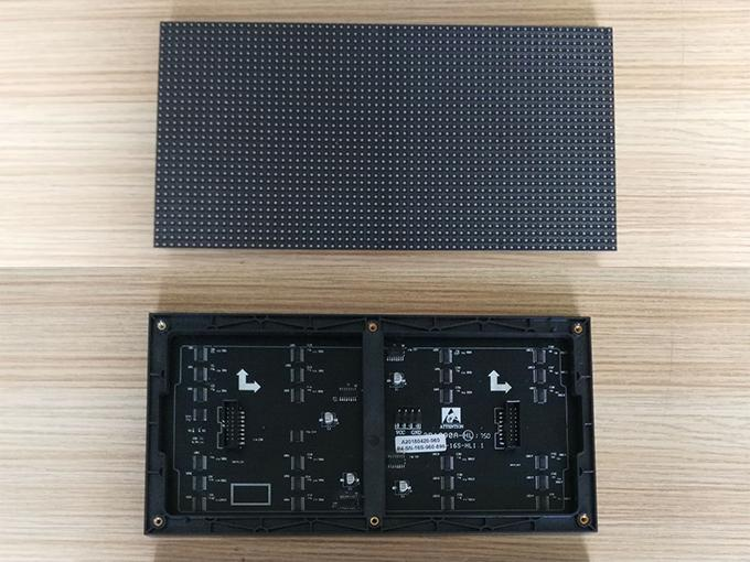 Indoor Full Color Led Display , Led Tv Display Panel P4 Die Casting Aluminum Cabinet