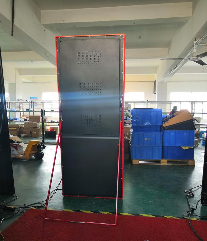 AC 220V Advertising LED Screens 2m Length Poster Asynchronous Control Mode