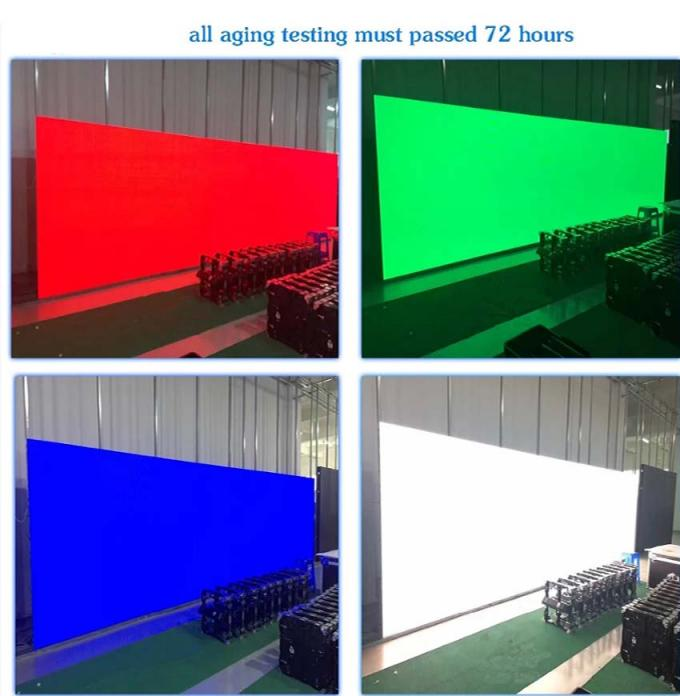 HD Indoor Full Color Video Wall Rental 5mm Pixel Pitch Die Casting Cabinet
