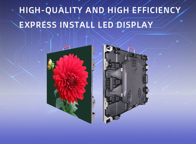 SMD 2020 Indoor Full Color LED Display P2 P2.5 HD Aluminum Ceiling Screen IP43