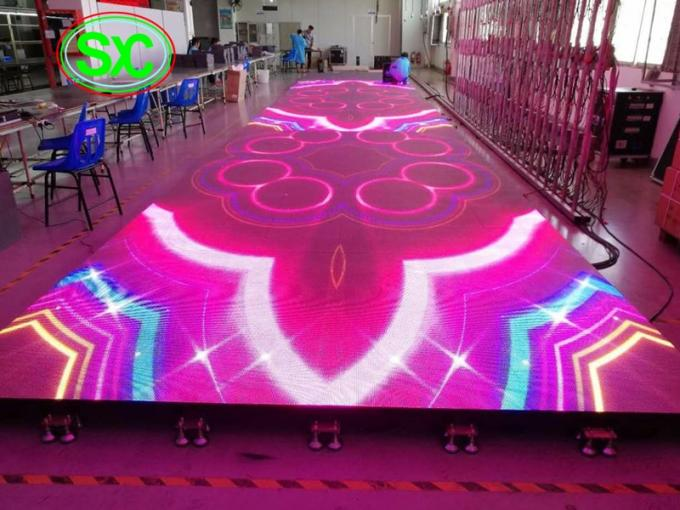 open stage club dance floor,concert rental full color outdoor p6.25 led dance floor screen
