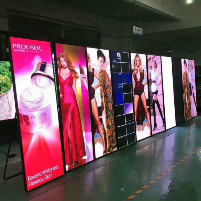P3 Indoor Full Color LED Display , 1500 Nits LED Poster Screen For Shopping Mall