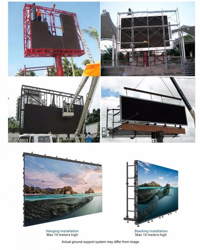 RGB 3 In 1 Indoor Rental Screen Panel Video Wall Wedding Backdrop Night Club Event