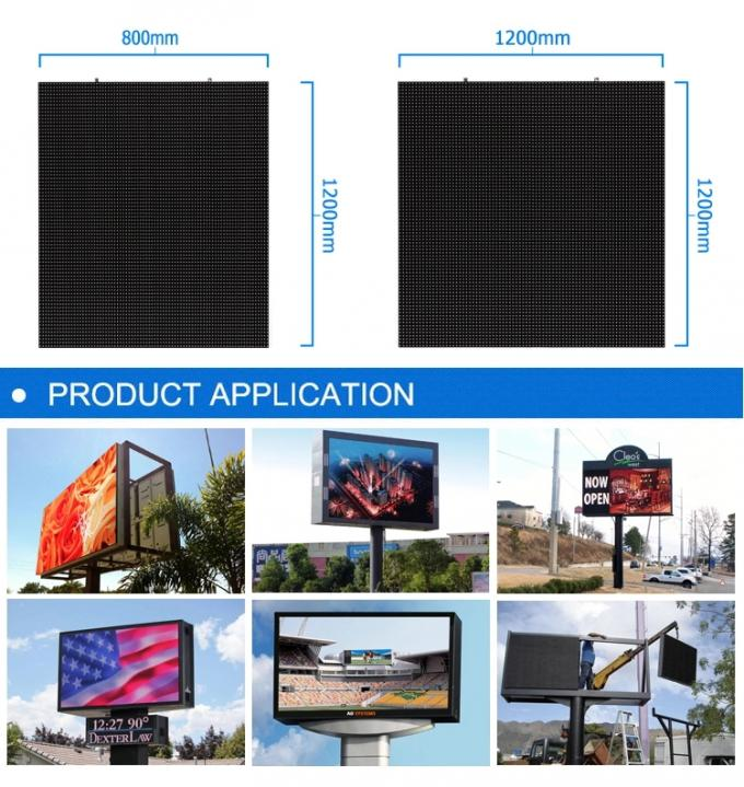 RGB SMD HD Digital Led Billboards Sign , Outdoor Advertising Led Display P4 P5 P6 P8