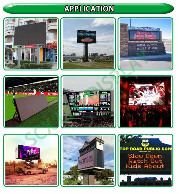 Nova System Static P20 Outdoor Full Color LED Display For Stadium , Airport , Shopping Mall 0