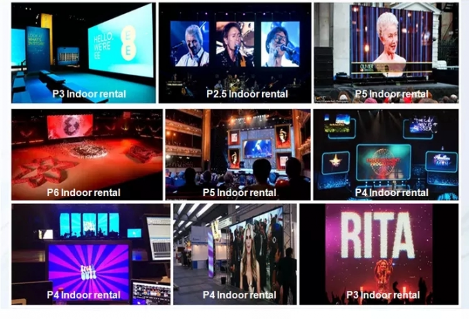 Outdoor P5 Smd Full Color Led Screen Module , high brightness led video wall modules 0