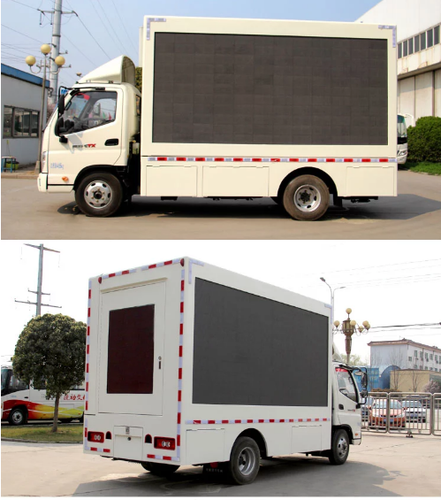 Vehicle HD Video Truck Mounted Led Screens Multimedia Advertising P5 P6 P8 P10 0