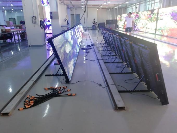 Perimeter IP54 6500cd/sqm P10 Stadium Led Display 960x960mm 1